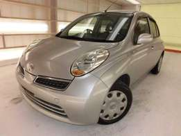 beautiful 2010 Nissan March KCL, 1200cc, cd player,Intelligence key,