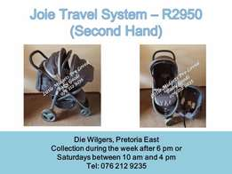 Joie travel system - Please call after 5 pm during the week