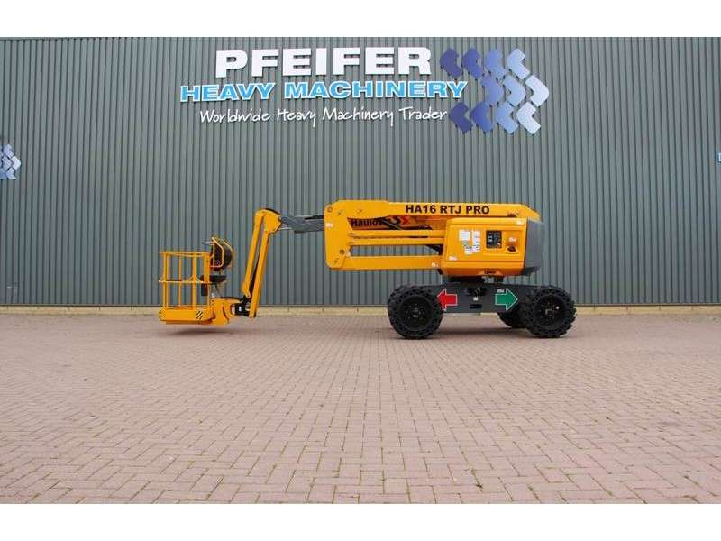 Haulotte HA16RTJPRO NEW / UNUSED, 16 m Working Height, Also - 2018