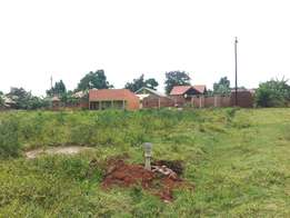 Land/ plots with land title in Kawanda town, few meters to main road