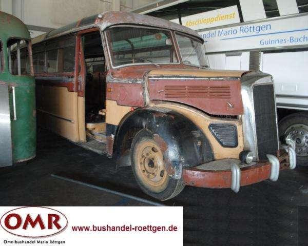 Mercedes-Benz O 3500 Oldtimer / Scheunenfahrzeug - 1953