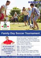 Hirsch's Family Day Soccer Tournament