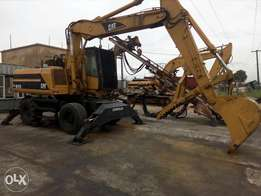 Foreign used cat excavator M318 for sale