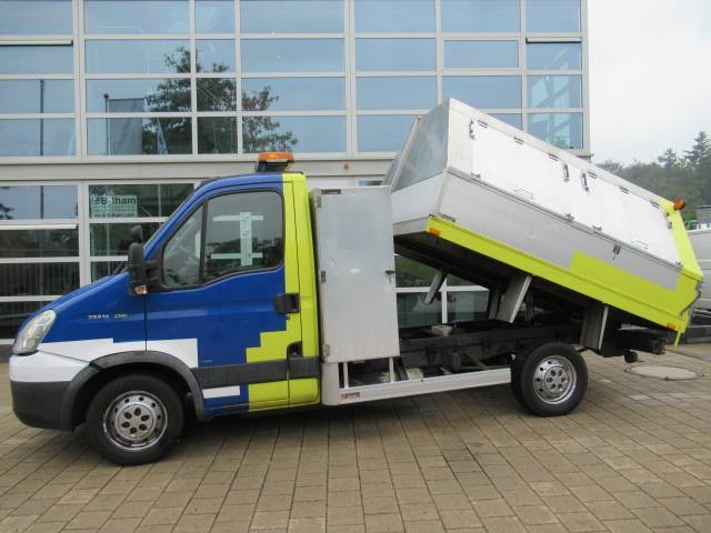 Iveco Daily 35S14 3.O CNG EC Veegvuilkipper - 2008