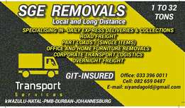 SGE Removals