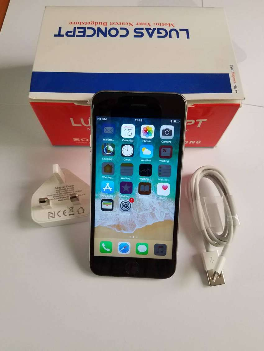 10 Off Clean Apple Iphone 6 64gb With Charger Kekki Phones 0