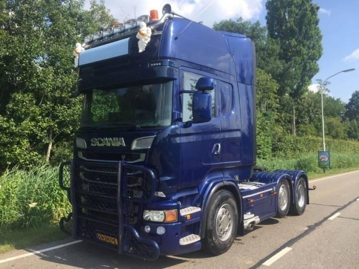 Scania R500 6x2/4 manual retarder pto twinsteer - 2010