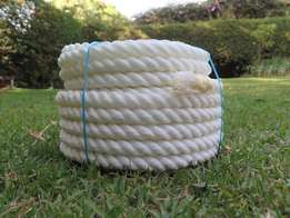 Nylon Twisted Rope / Nylon 3-Strand Rope / White Nylon Rope!