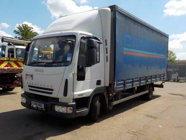 Iveco EUROCARGO 75E16 vrachtwagen schuifzeil te koop bij opbod