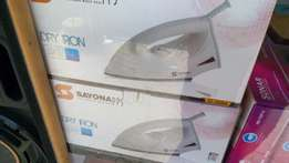 Sayona dry iron box brand new