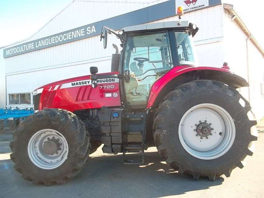Massey Ferguson 7720 Dyna 6 Efficient - 2016