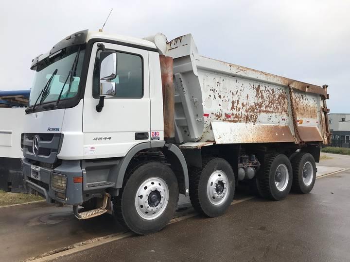 Mercedes-Benz Actros 4844K 8x4 Dump Truck - 2011