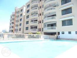 IF 0987 COZY 3bedrm apartment with pool,lift in a serene area of nyali