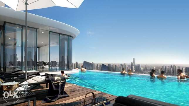 Apartments for sale with pool and wellness center in Dubai Damac Tower كلمنصو -  4