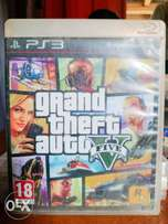 GTA V and other ps 3 games available for sale.