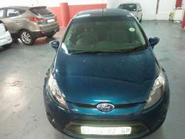 2012 Ford Fiesta 1.4 Ambiente, Color Green, Price R110,000.