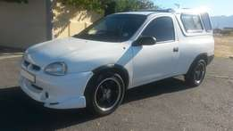 1998 Opel Corsa Utility with Canopy