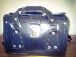 Old leather bag for Camera