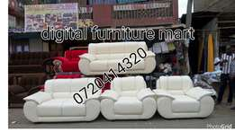 Elegant Leather seven Seater couch
