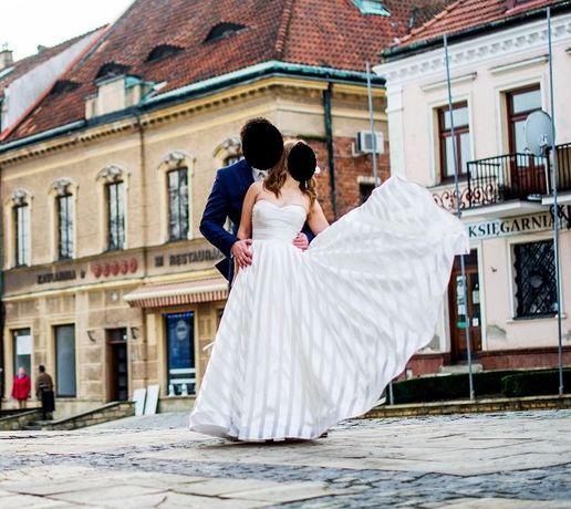 Suknia ślubna Impresja Rozm 36 Rzeszów Kolbuszowa Mielec Kolbuszowa