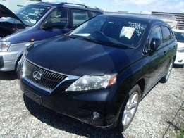 LEXUS / RX270 CHASSIS # AGL10-240 year 2011