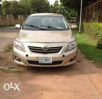 Buy & Drive 2008 Toyota Corolla at N1.7m