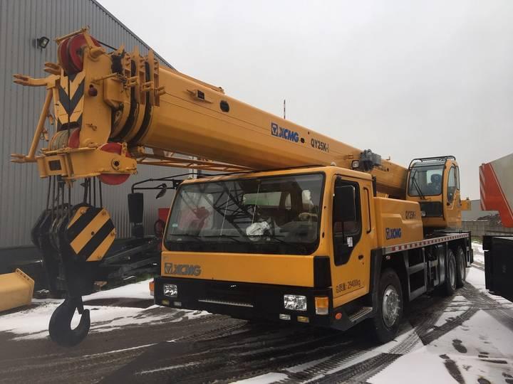 XCMG QY25K-I 25 Ton 6x4 Hydraulic Truck Crane - 2016