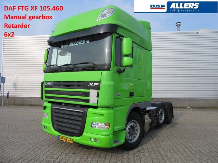 DAF FTG XF105.460 SSC Manual *Retarder* 6x2 - 2011