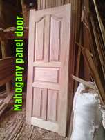 Mahogany Panel Doors