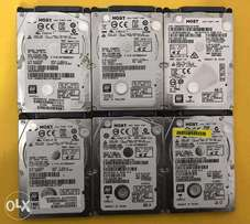 HGST Laptop hard drives 500GB