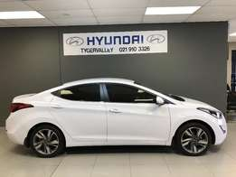 2017 Hyundai Elantra 1.6 Premium Manual Facelift DEMO,DEMO