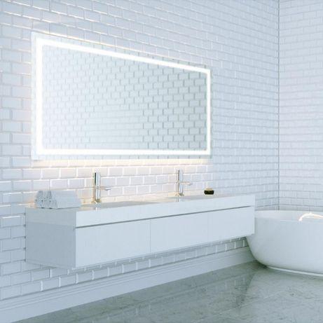 Lustro łazienkowe Led 100x50 Cm 50x100 Cm Nowy Tomyśl