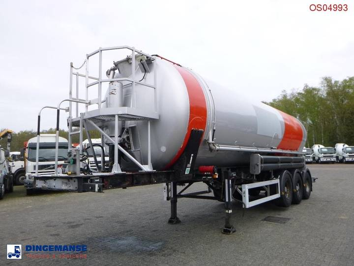 Weightlifter Bulk tank alu 37 m3 (tipping) - 2000