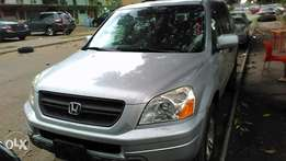 Foreign used Honda pilot 05 tincan cleared