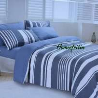 Bedsheet, pillow covers and duvet cover