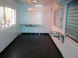 Shipping containers converted for sale
