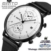 Black GIMTO WATCH - with magnet strap