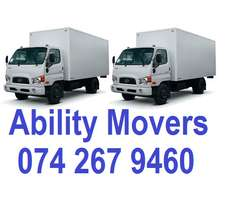 Ability Movers furniture removals