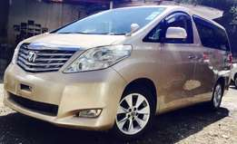 toyota Alphard fully loaded prime grade just arrived 2,299,999/= o.n.o