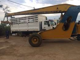 Zulu crane with Ford 6600 attachment for sale
