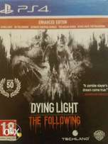 Dying Light The Following Enhanced Edition PS4 R400