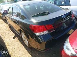 Body type: Saloon Subaru Legacy Black KCP