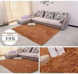 Soft and fluffy carpets