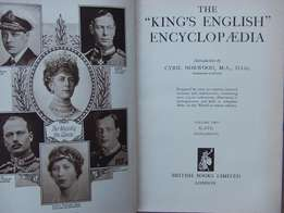 The KIngs English Ecycyclopedia - Volumes 1& 2 - 1933 - Great Brtain -