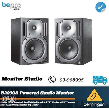 """Behringer Truth B2030A 6.75"""" Powered Studio Monitor each"""