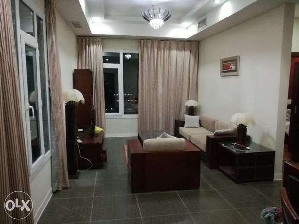 Sea views furnished 2 bdr apt in mahboula.