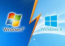 installing windows 7 or 8 for 1000. Drivers installation too for 1200
