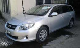 Toyota fielder MANUAL KCN deposit 700k