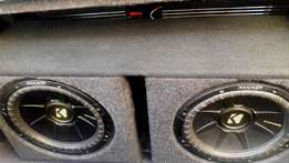 High Perfomance Car Audio System