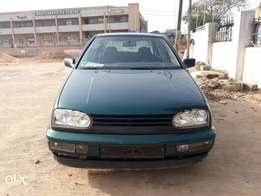 Foreign used Volkswagen golf.3